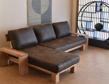 和室畳に合うソファー6