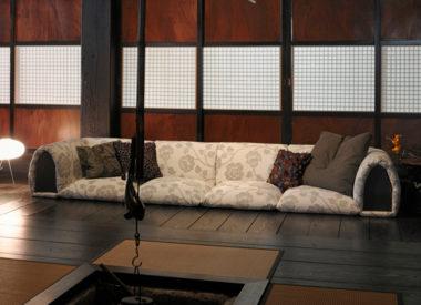 和室畳に合うソファー7
