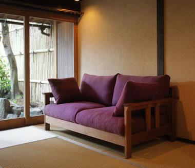 和室畳に合うソファー8