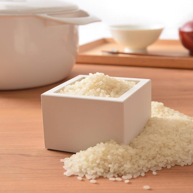 おしゃれな米の計量カップ6