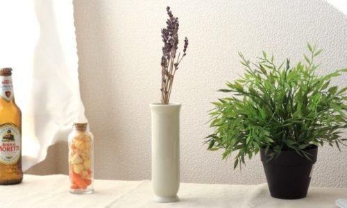 おしゃれな一輪挿し花瓶おすすめ16選!白色陶器・木製の壁掛けタイプ
