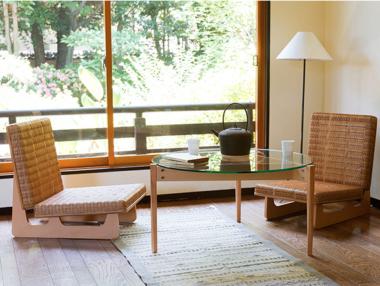 和室に合うおしゃれなモダン座椅子5