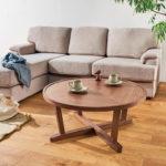 天然木アーバンナチュラル リビングテーブル 【urbasta】 直径80