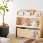 収納簡単!おしゃれな子供の人気絵本棚おすすめ16選【木製】