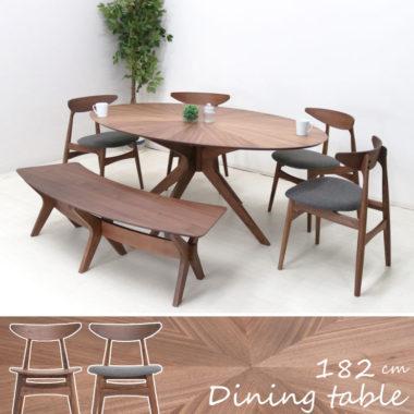 おしゃれな北欧風ダイニング丸テーブル7