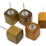 【木製文具】【木の押しピン】