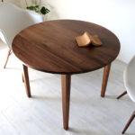 木製 ナチュラル シンプル 北欧 chocolatier ラウンドテーブル 90