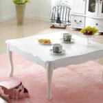 折り畳み式猫脚テーブル