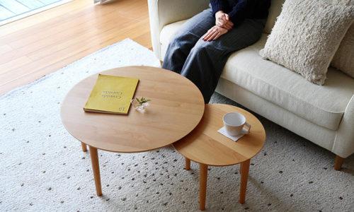 北欧風で木製のおしゃれな丸テーブル24選【リビング・ダイニング】