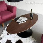 リビングテーブル モダン 大 センターテーブル 120 ウォールナット