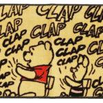 お風呂 マット バス マット くまのプーさん クラップ ディズニー 丸眞 65×45cm インテリ…