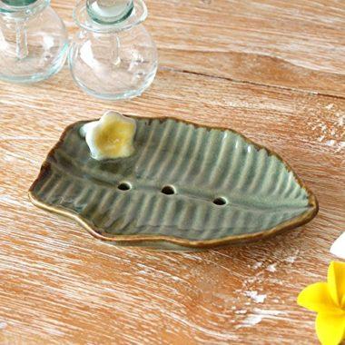 おしゃれな陶器の石鹸置き1