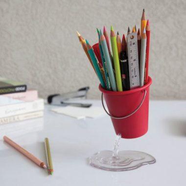 おしゃれなおもしろかわいいペン立て1