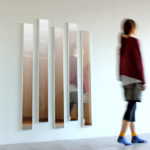 鏡 スリム 姿見 全身 日本製 玄関 コンパクト 壁掛けミラー スリムミラー 細枠 インテリアミラ…