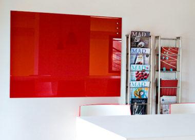 おしゃれなオフィス用ガラス・ホワイトボード5
