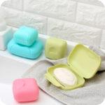 Plus Nao(プラスナオ) 石鹸ケース ふた付き 持ち運び