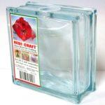 ガラスブロック 貯金箱 募金箱gb11080-b