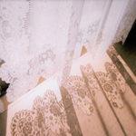 スカラップレースカーテンUB4 幅100cm×丈213cm※2枚組 姫系 かわいい 可愛い カワイ…