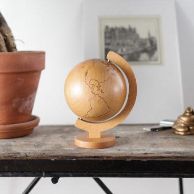 木製・アンティークのおしゃれ地球儀