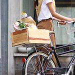 おしゃれな籐風、かっこいいデザイン!自転車の前かご・後ろかご14選