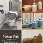 トイレブラシ 陶器 vintage (クリーナー サニタリー アメリカンヴィンテージ)