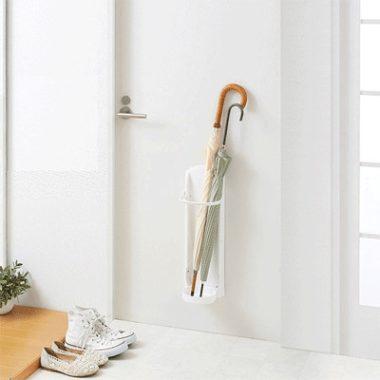 シンプルなデザイン傘立て