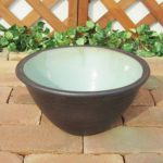 10号睡蓮鉢 水鉢 陶器 ブラウン 水辺のビオトーブ ガーデニング 金魚鉢 メダカ鉢 スイレン鉢 …