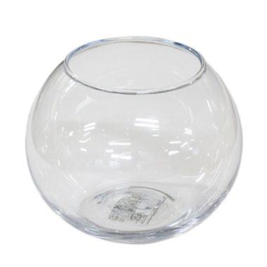 おしゃれでレトロなガラス金魚鉢5
