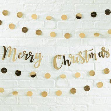 おしゃれクリスマスガーランド