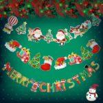 クリスマスガーランド クリスマス 飾り付け デコレーション 3m&6種類 サンタクロース トナカイ…
