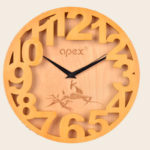 送料無料 【掛け時計】木のデザイン ナチュラル 木 自然 木建築 木の家 木の時計 木でできた時計…