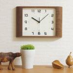 インテリアのポイントに!おしゃれな掛け時計【シンプル・北欧・見やすくて安い】30選