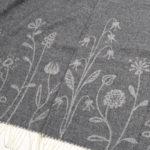 クリッパン ウール スローケット 130×200 フラワーメドウ (klippan wool th…