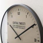 【送料無料】壁掛けフック特典有★電波時計 セントラルタイム インターフォルム interform …