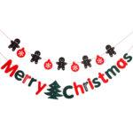 Cosjob クリスマス フェルト 製 ガーランド セット (A1053) 装飾 飾り DIY X…