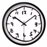 壁掛け時計 クロック 壁時計 掛け時計 デジタル 数学 可愛い 数字時計 おしゃれ デザイン イン…