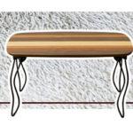 テーブル 折りたたみテーブル ARCHAIC折れ脚ミニテーブル ミックスウッド センターテーブル …