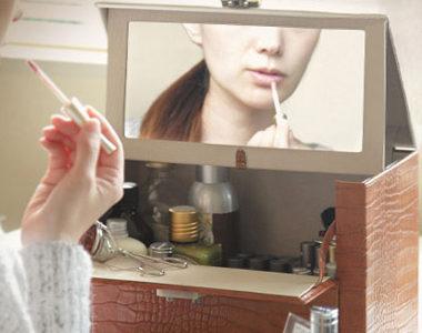 鏡付きで便利な収納!おしゃれかわいいメイクボックスおすすめ10選