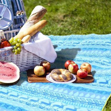おしゃれなピクニック・レジャーシート