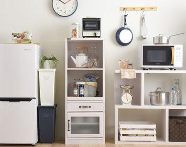 お部屋に馴染みやすい!おしゃれな木製のキッチンラックおすすめ10選