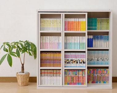 スライド式で奥まで本をたっぷり収納!おしゃれな本棚おすすめ10選