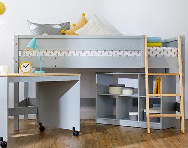 子供部屋にも最適のベッドつきのおしゃれな学習机おすすめ10選