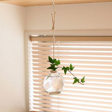 吊り下げ式の花瓶