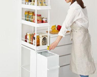 すき間収納にピッタリ!幅30㎝以下のキッチンラックおすすめ10選