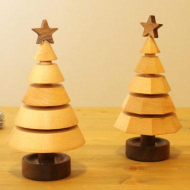 おしゃれな北欧調のクリスマスツリー