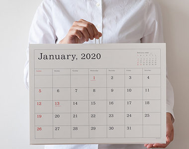 【2020年度】おしゃれで可愛いデザインのカレンダーおすすめ10選