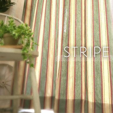 ストライプカーテン