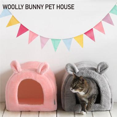 おしゃれなドーム型の猫用ベッド