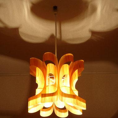 ウッド照明