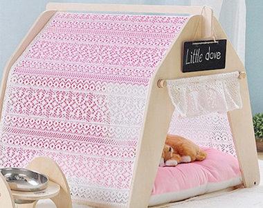 おしゃれで可愛いお姫様ベッドタイプ!犬用ベッドのおすすめ10選